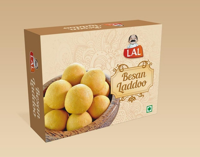 Lalsweets Product Packaging Design