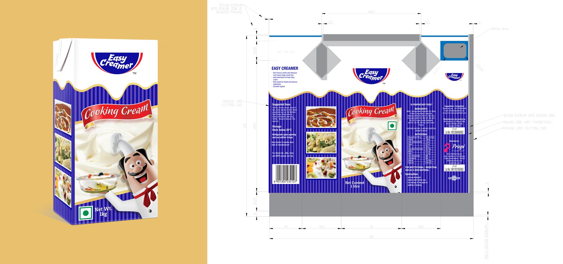 PACKAGING AND LABEL DESIGNING