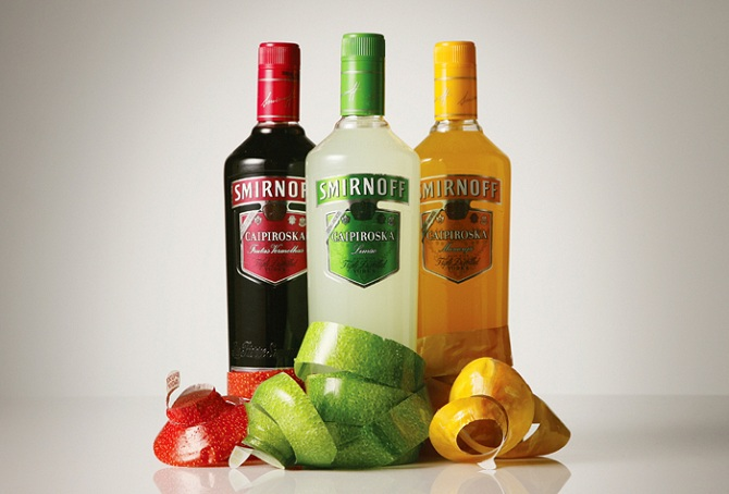Smirnoff - Diseño de packaging